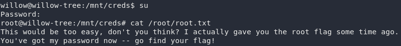 Contents of root.txt