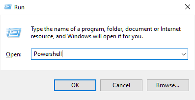 How to Open Powershell in Windows